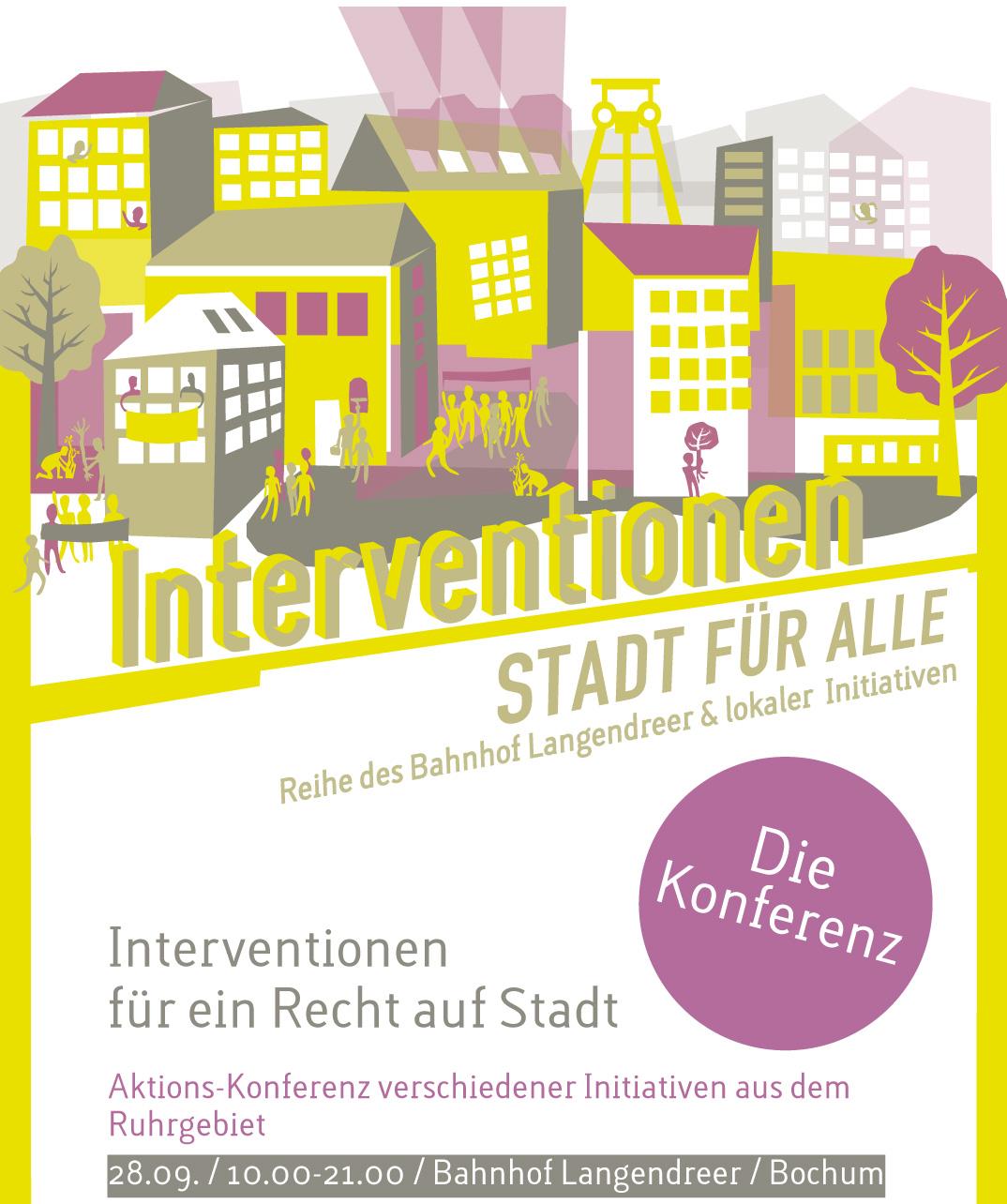 Interventionen für ein Recht auf Stadt – die Konferenz