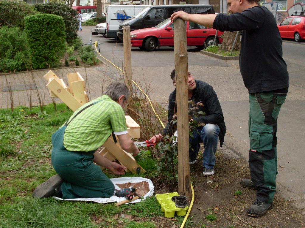 """Bericht vom Start-Workshop im Bürgergarten """"Kleine Heroldwiese"""""""