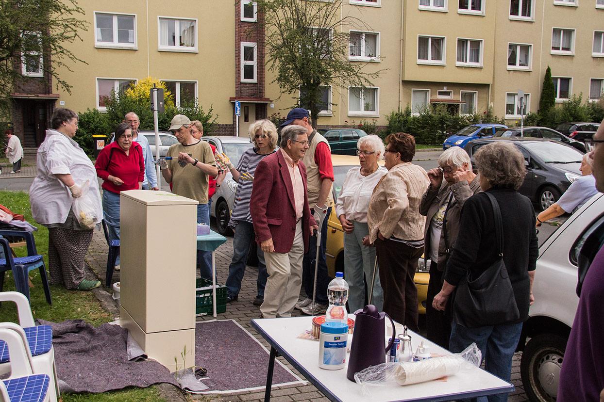 Dokumentation vom Projekt Energieverteiler im Althoffblock
