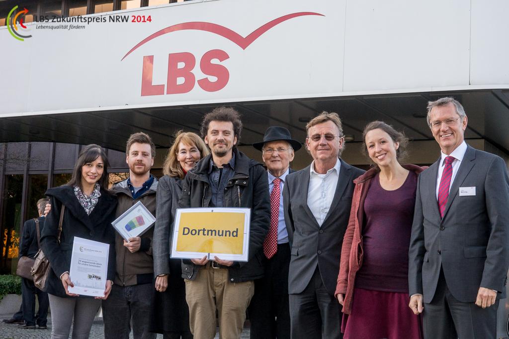Die Urbanisten ausgezeichnet mit dem 1. Platz beim LBS-Zukunftspreis NRW