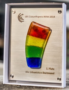 LBS Zukunftspreis NRW 2014, 1. Platz