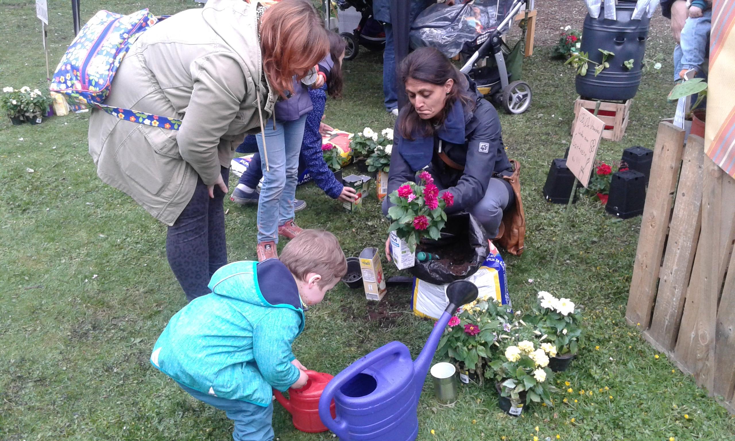 Tag des Quartiers – KOBI und die Urbanisten laden zum Gärtnern ein
