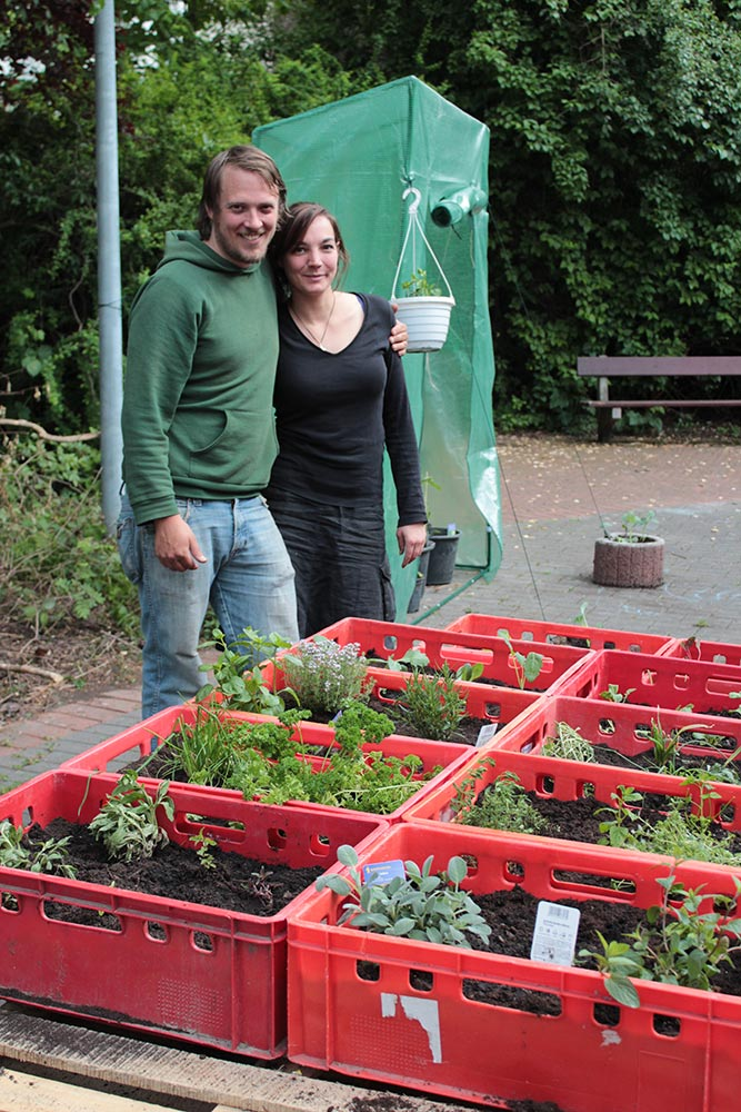 """Kleingarten wird zum Experiment"", WAZ, 08.04.2016"
