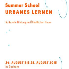 "Vortrag - Summer School ""Urbanes Lernen"""