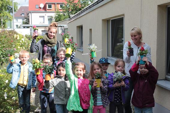 "Urban Gardening im Kita-Alltag – Die Methodenbox ""StadtOasen"""