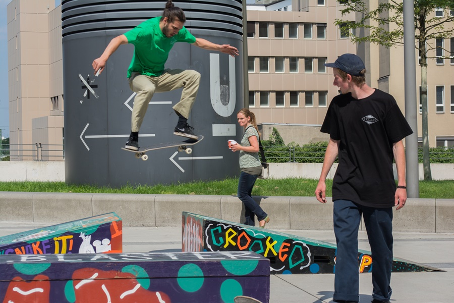 Skateboardschule (Create Your SkatePlaza 2.0)