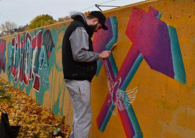 Wand Sucht Maler 10