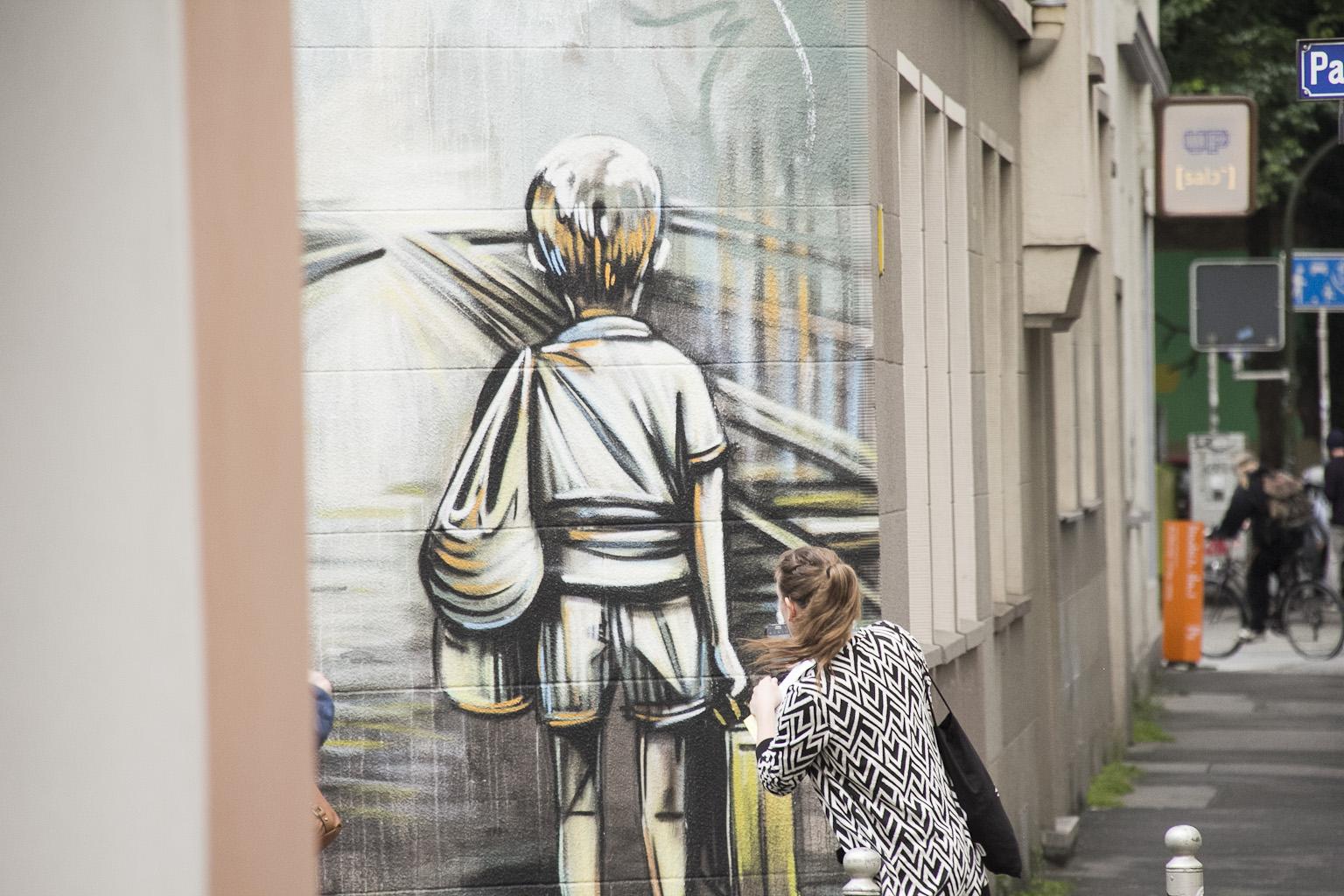 """Offizielle Premiere des """"Street Art Bingo"""" im Unionviertel"""
