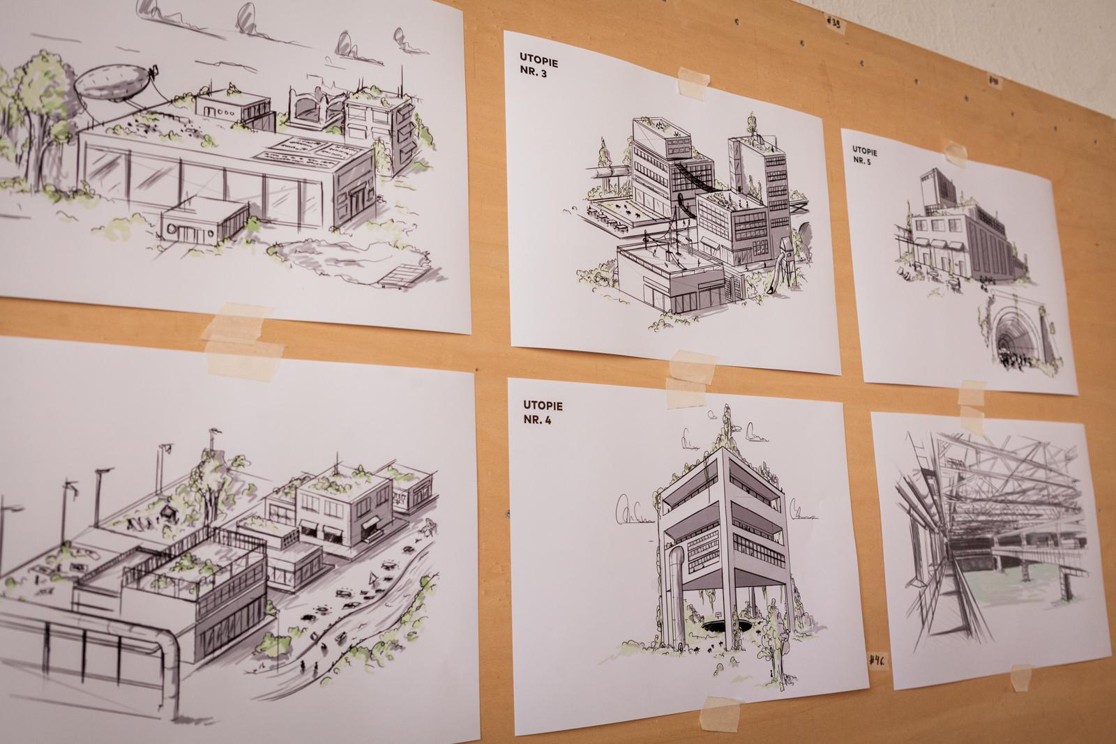 ….skizzieren Visionen von künftigen Nutzungen industrieller Areale.