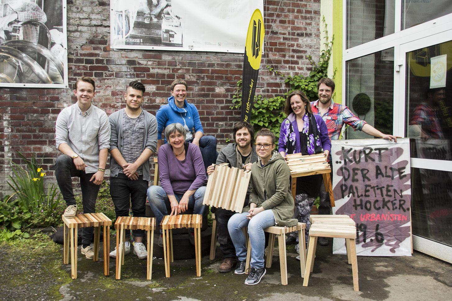 "Workshop | Designhocker ""Kurt"" aus Restholz"