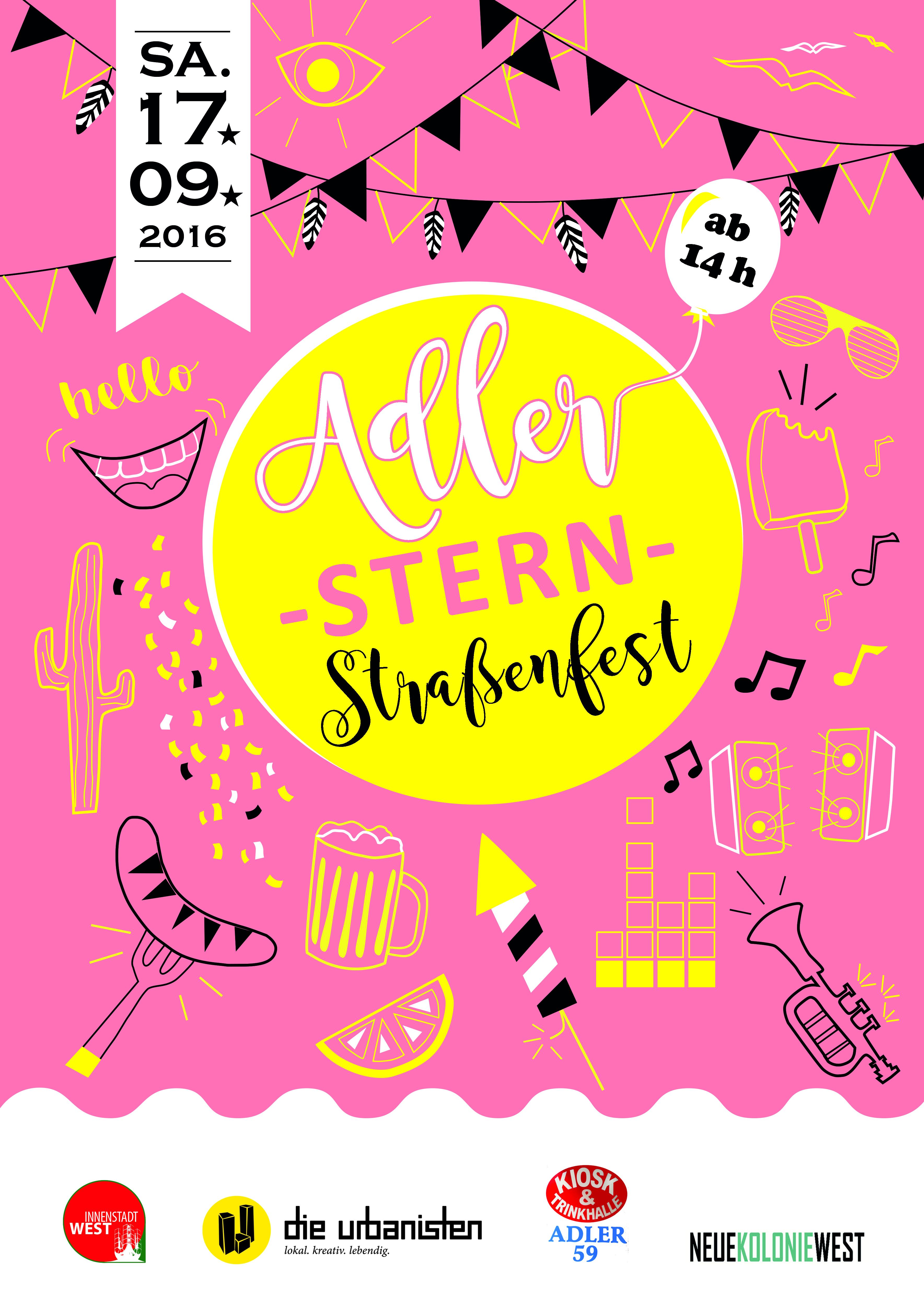 Adler*Stern Straßenfest 2016