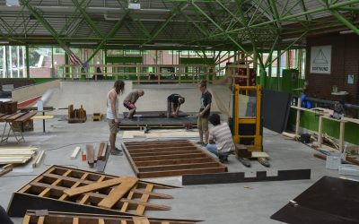 Create Your Skateplaza 2.0 – Ergebnisse der Workshops, Skaten am U und Contest