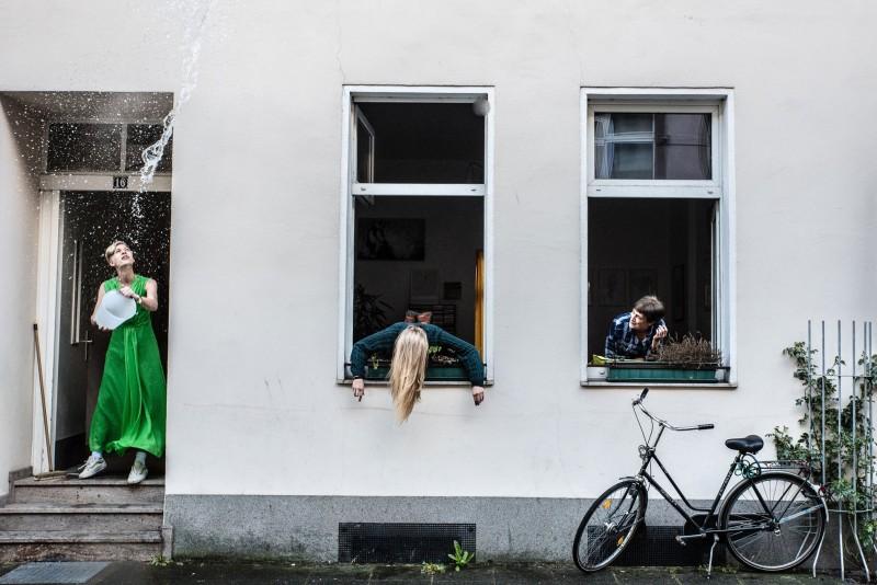 LEERE_FÜLLE Kunstparcours im Unionviertel