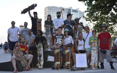"""""""Brinkhoffstraße wurde zu Skateboard-Rennstrecke"""", Ruhrnachrichten, 28.08.2016"""