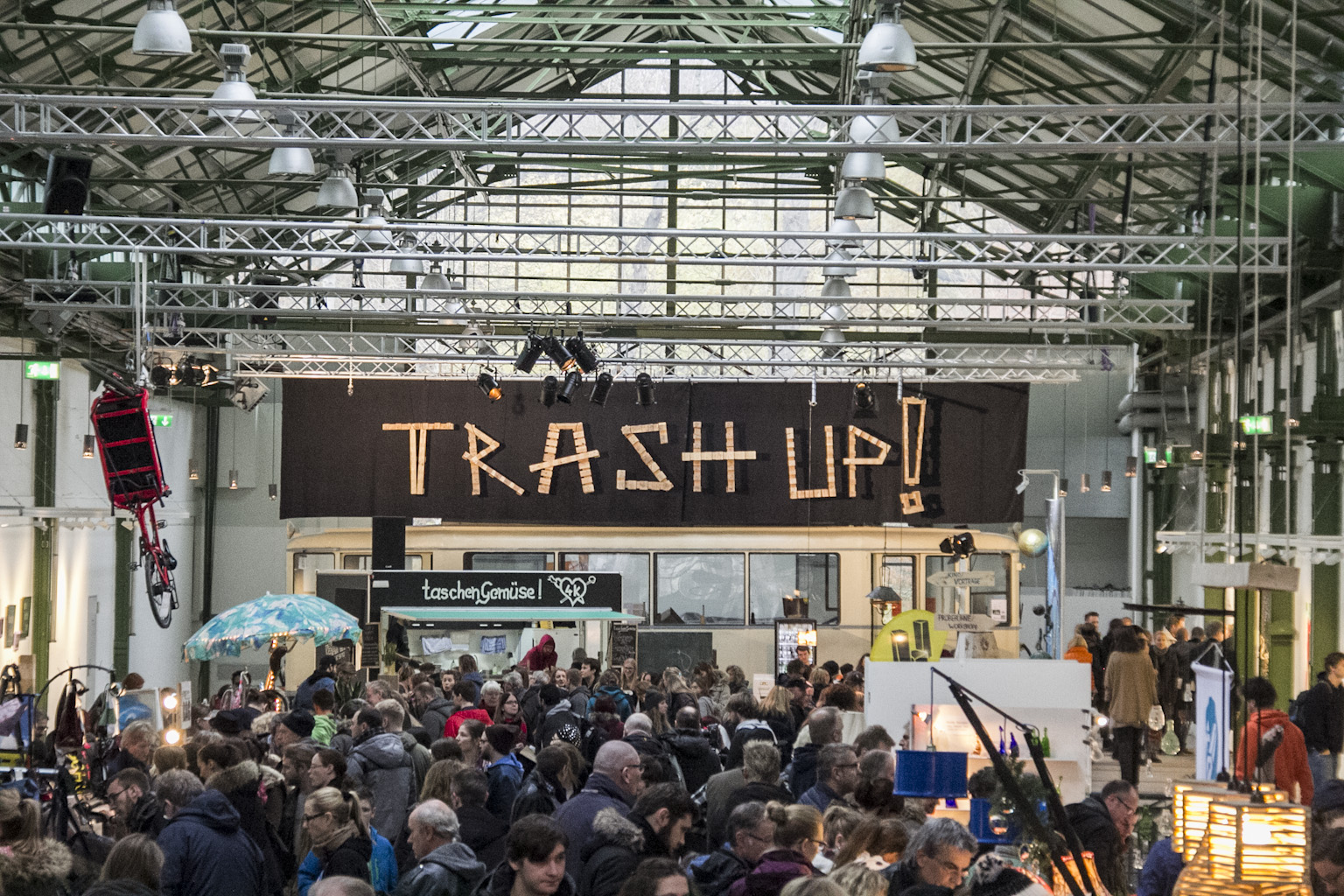 Trash Up! Das Upcycling-Festival im Depot Dortmund