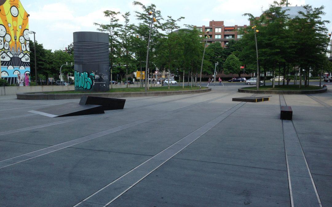 Create Your Skateplaza 3.0 am Dortmunder U – Die Rampen stehen