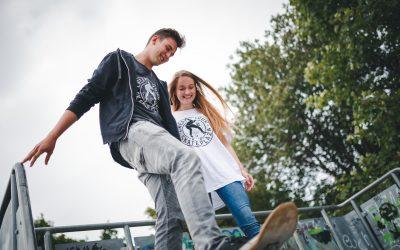 Skate Plaza Projekt mit T-Shirt Kauf unterstützen