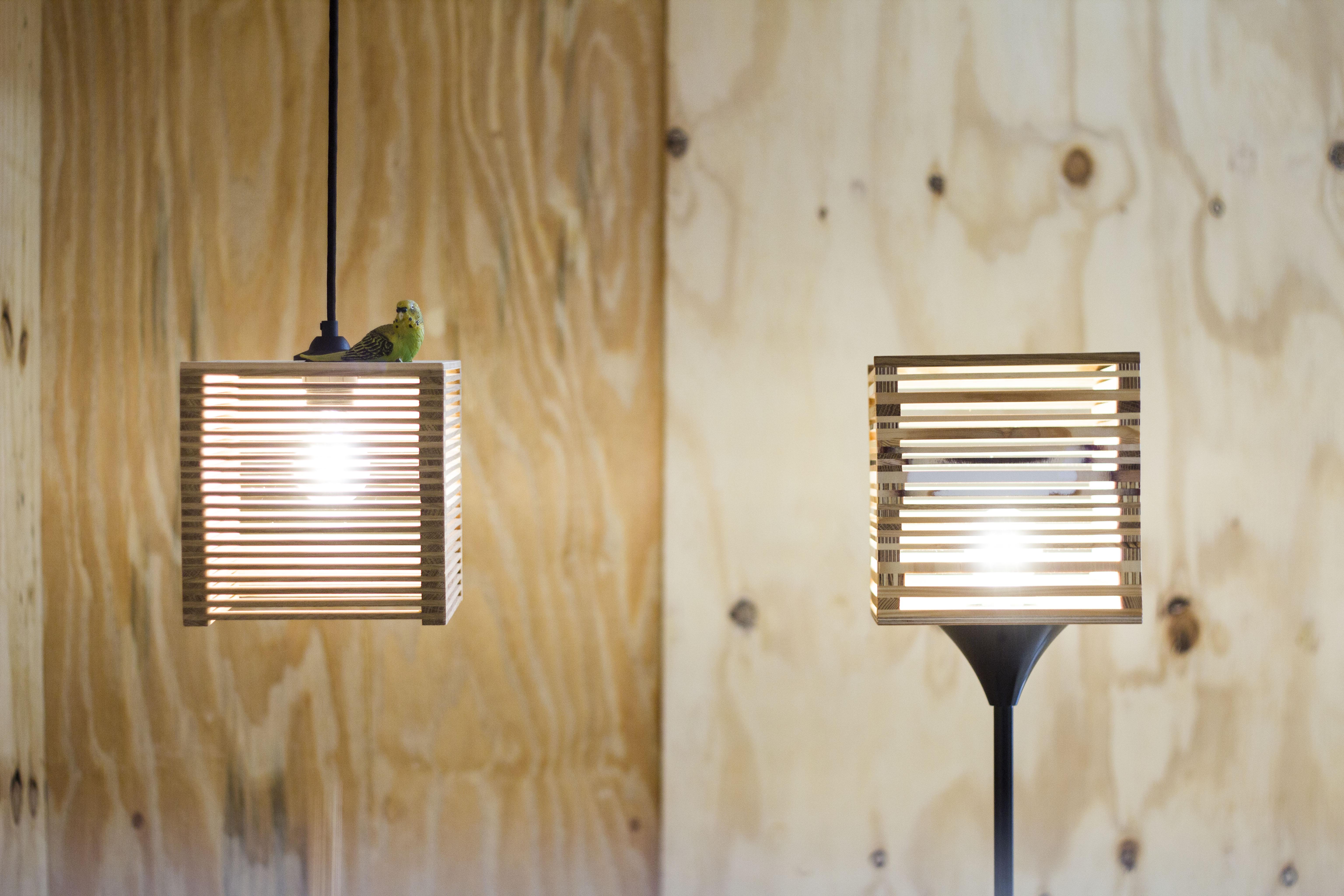 EVA | Lichtobjekt aus Restholz selber bauen