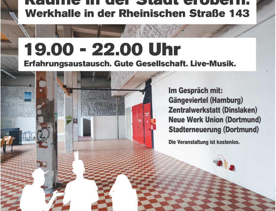 """Urbanisten laden zum""""Stadträume erobern"""" ein"""