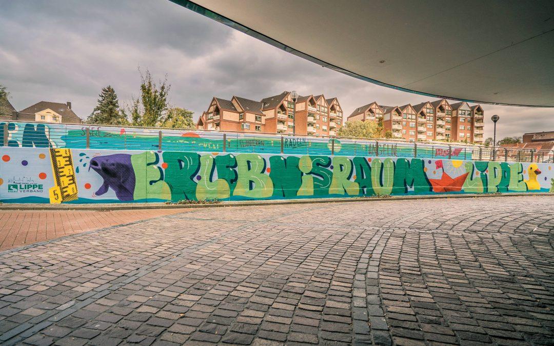 Erlebnisraum Lippe | Ein neues Wandbild für Lünen