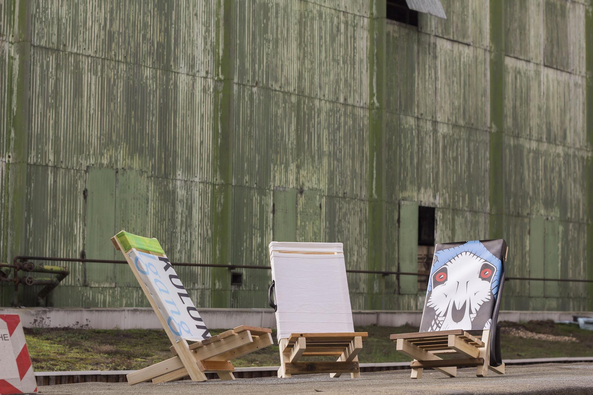 ADAM | Strandstuhl aus Restholz selber bauen