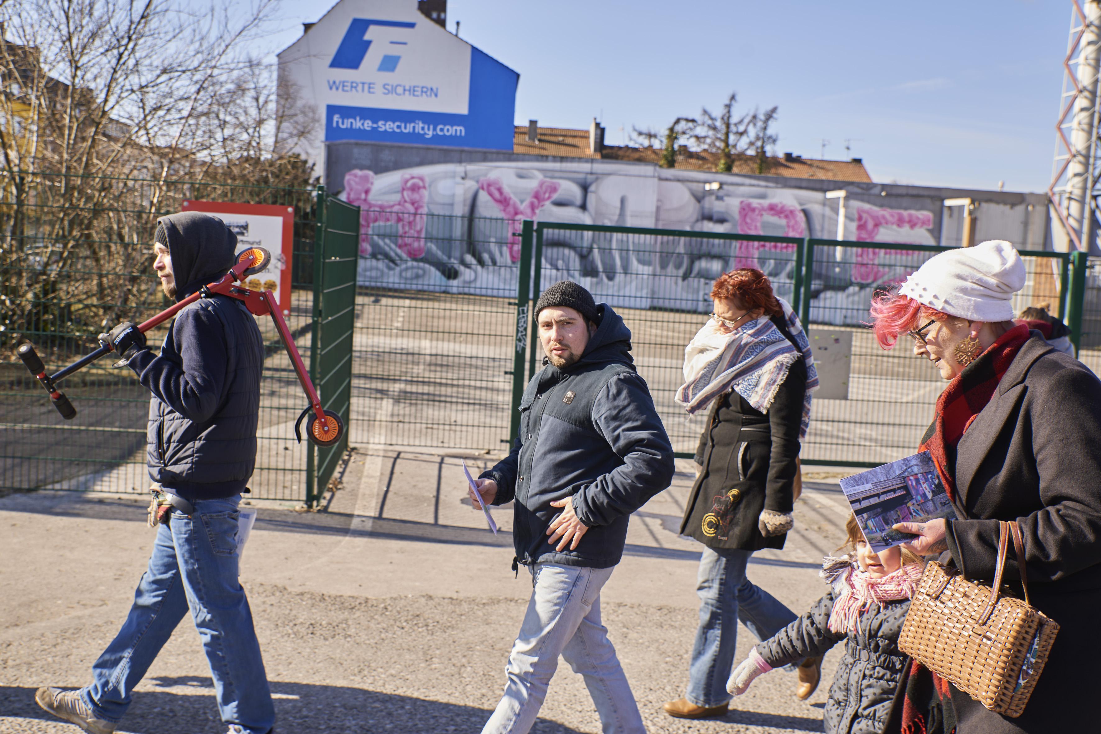 Urbane Kunst im Unionviertel - Zwischen Galerie und Illegalität
