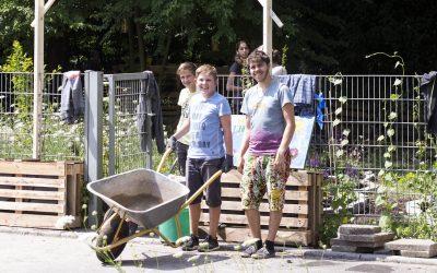 StadtOase Schule – Los geht's mit der kooperativen und nachhaltigen Gestaltung von Schulgeländen
