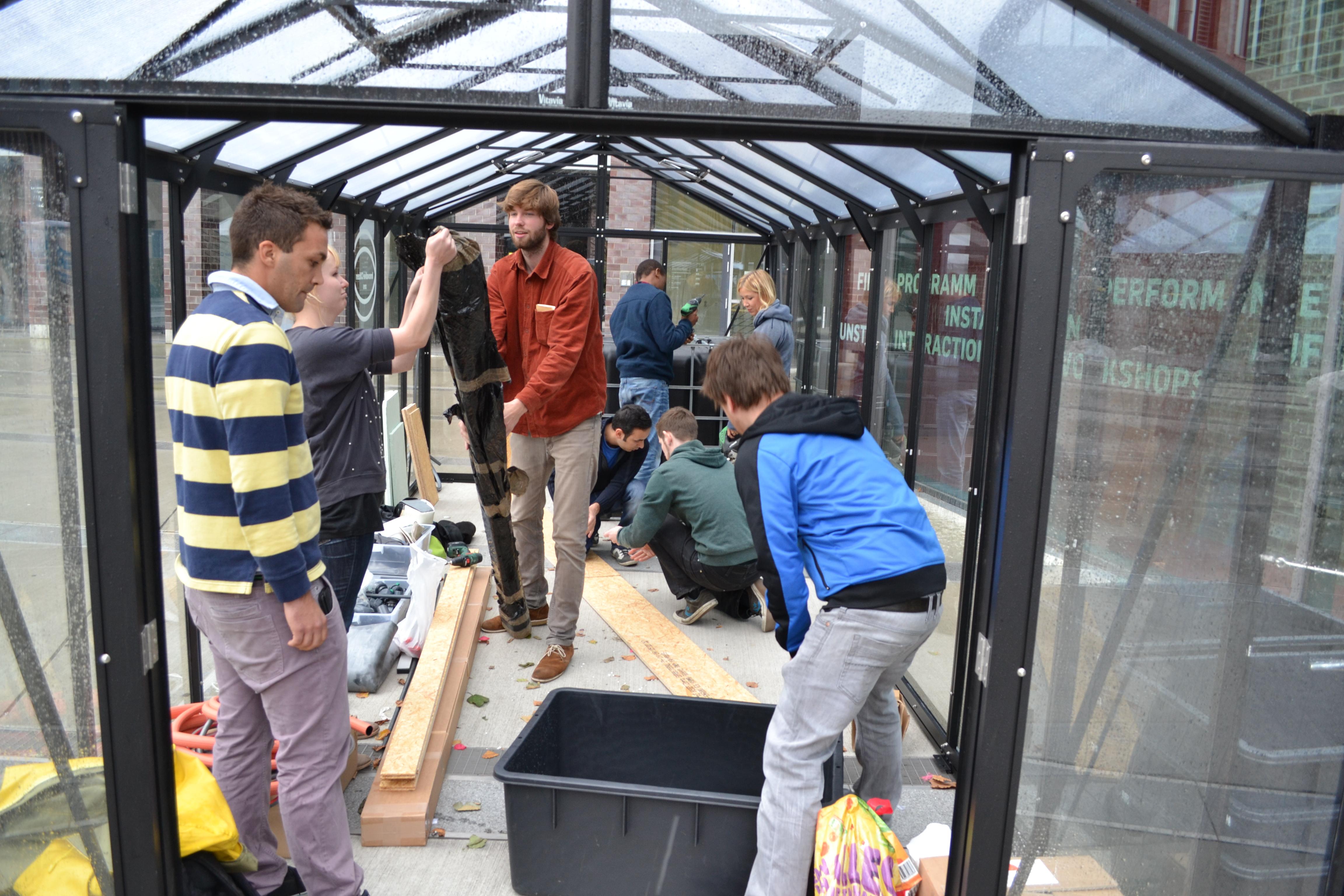 Aquaponik-Workshop Teil 1: Grundlagen und Gewächshausführung