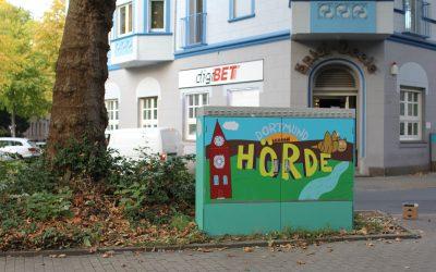 Energieverteiler im Hörder Burgunderviertel – Kooperative Gestaltung mit der Schule am Brücherhof