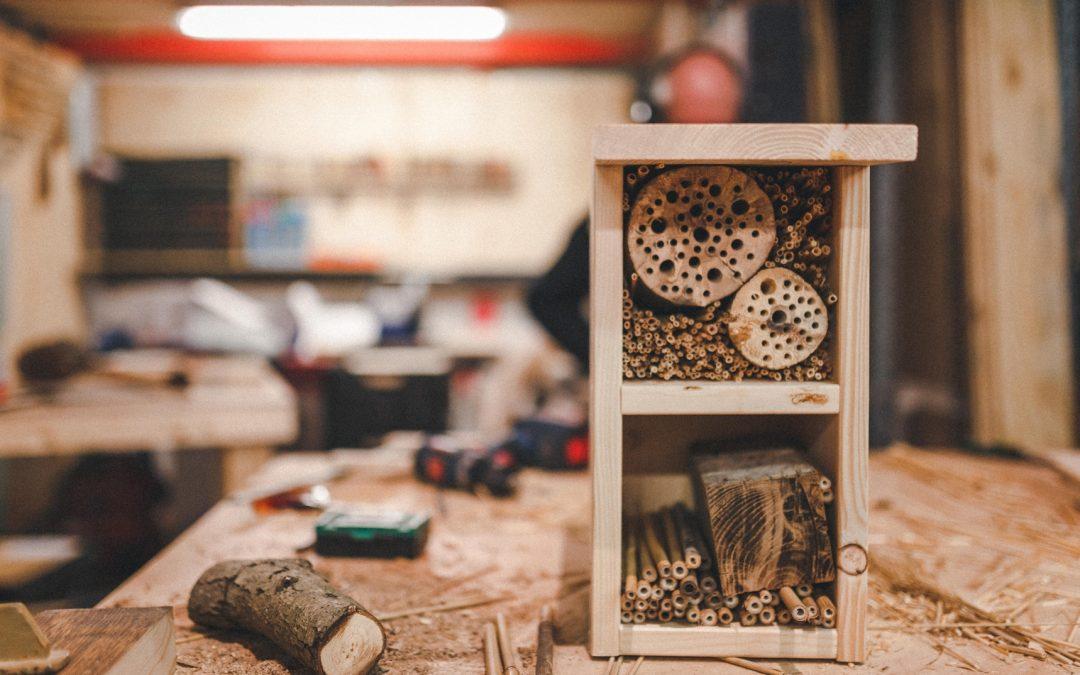 Insektenhotels für die Stadt
