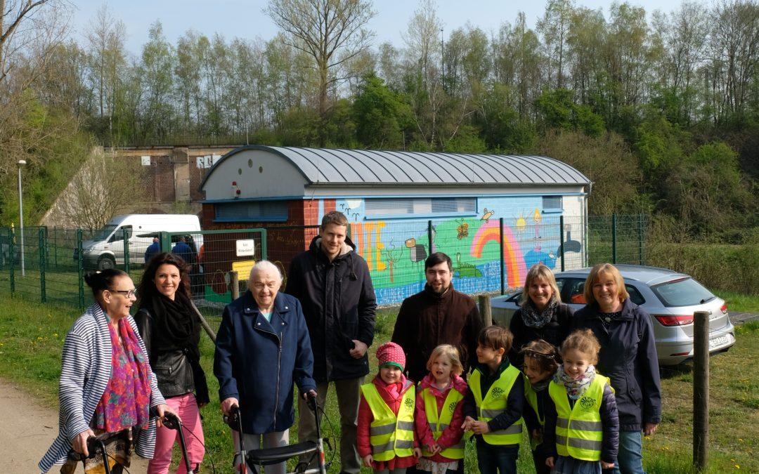 Gemeinsam für das neue Emschertal – Gestaltung des SKU am Mühlenberg Dorstfeld