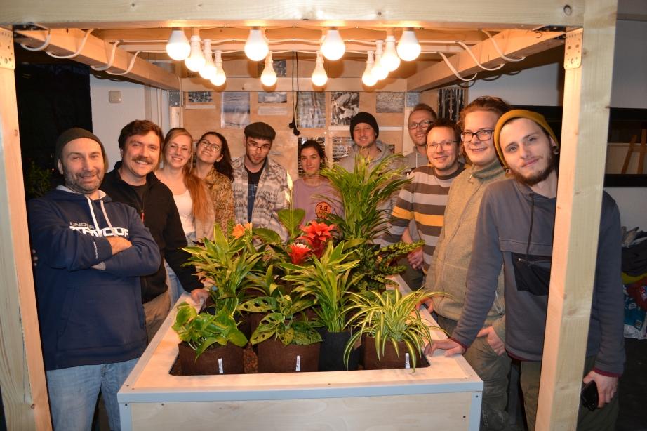 Aquaponik-Workshop im Westfalen-Kolleg