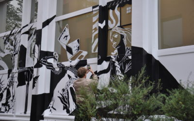 "Stadtbesetzung Gütersloh 2020 | ""views of pandemia"" | Mural"
