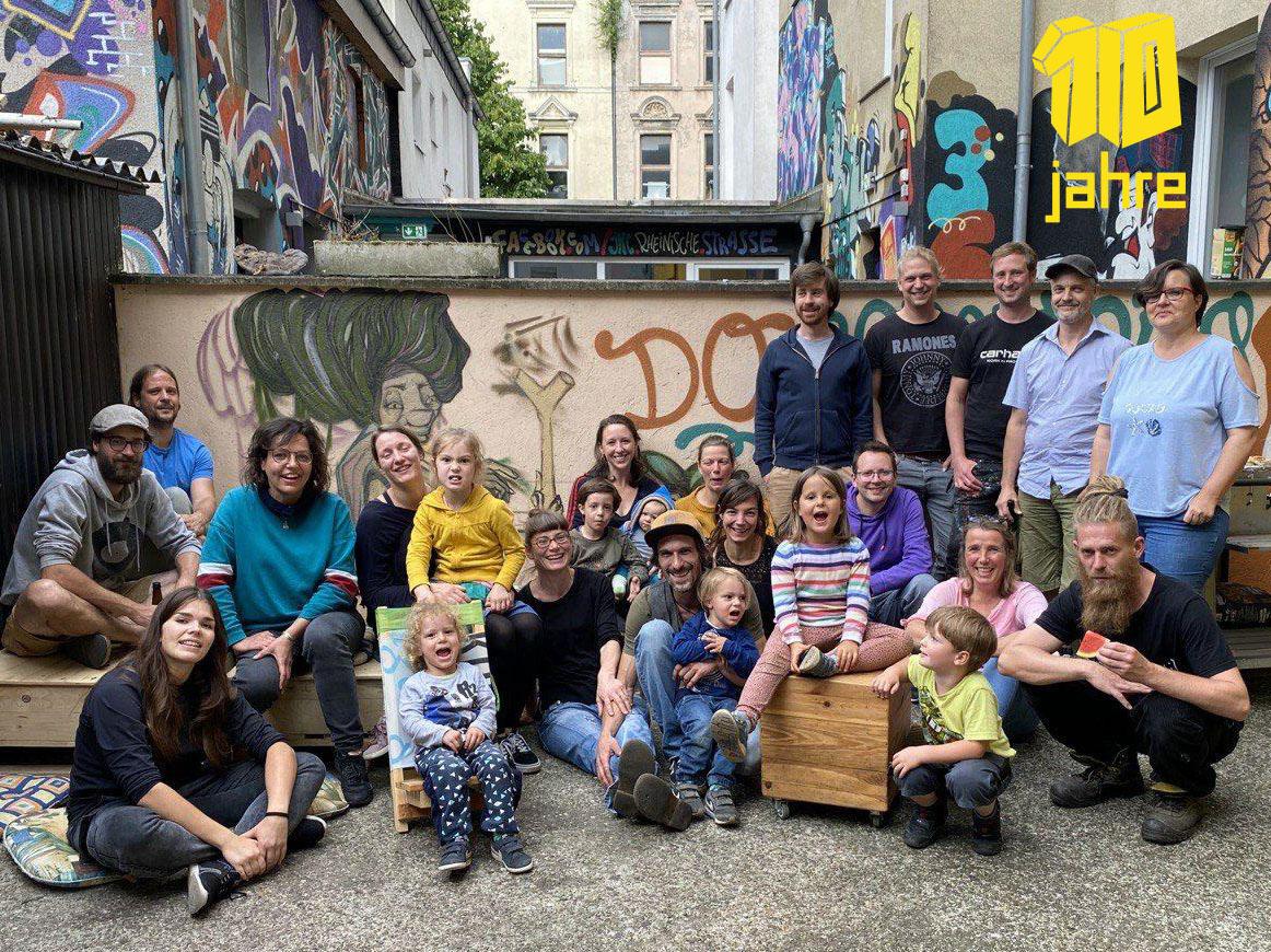 Jubiläumsfeier - 10 Jahre Urbanisten