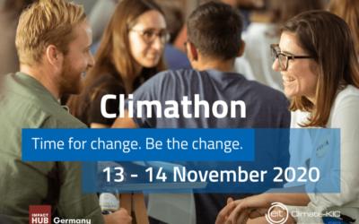 24 Stunden vereinte Power für den Wandel: Der Climathon 2020