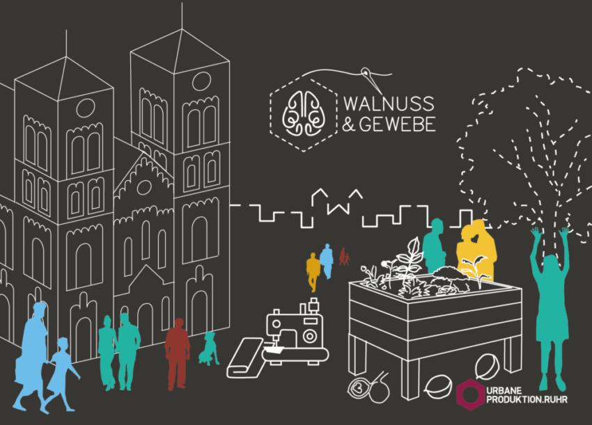 Walnuss & Gewebe - Gelsenkirchen produziert!