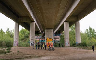 Unsichtbares sichtbar machen: Die TRANSURBAN Residency unter der Mallinckrodt-Brücke